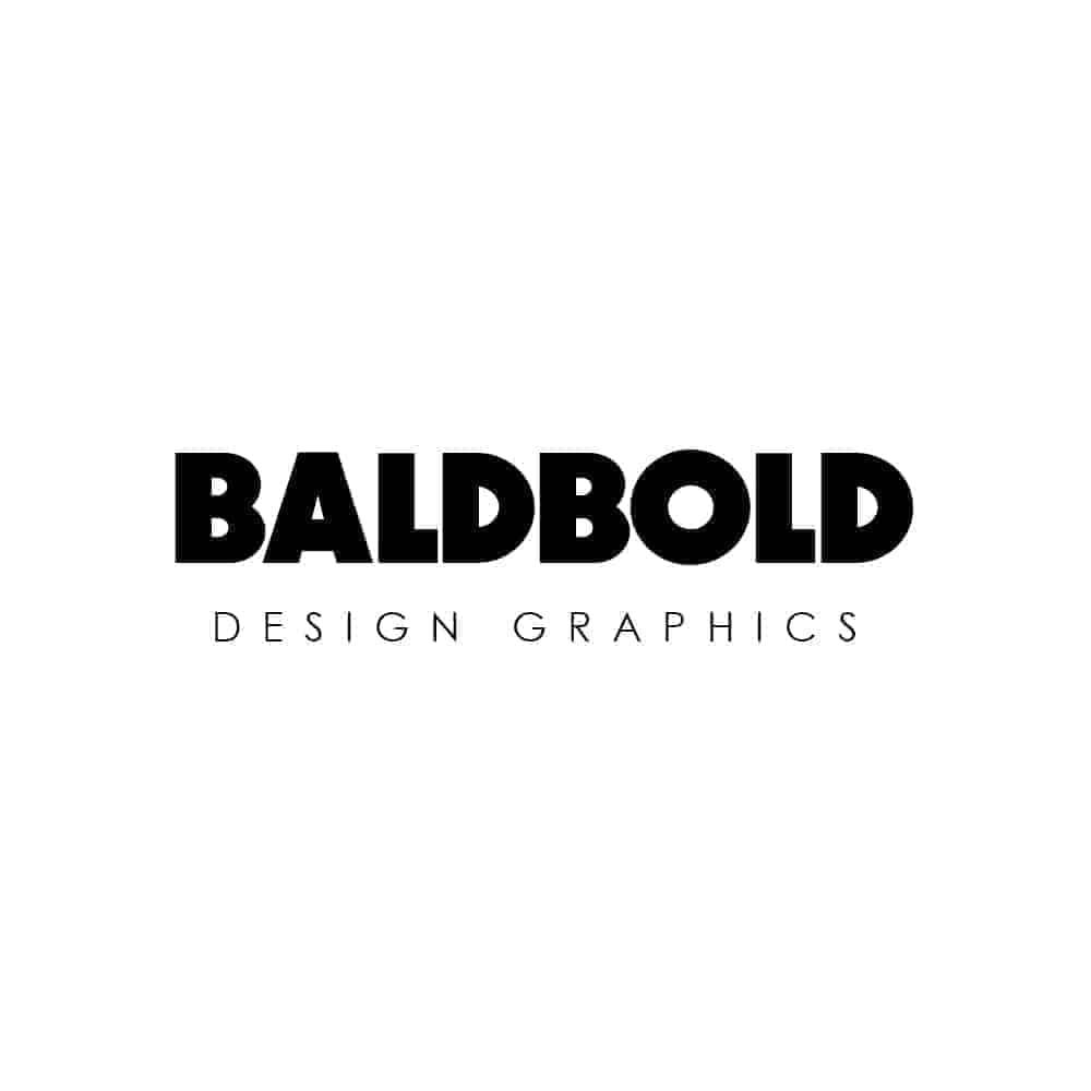 eviory minimal logo & badge - BALDBOLD