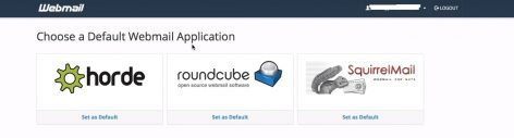 how to access cpanel email website
