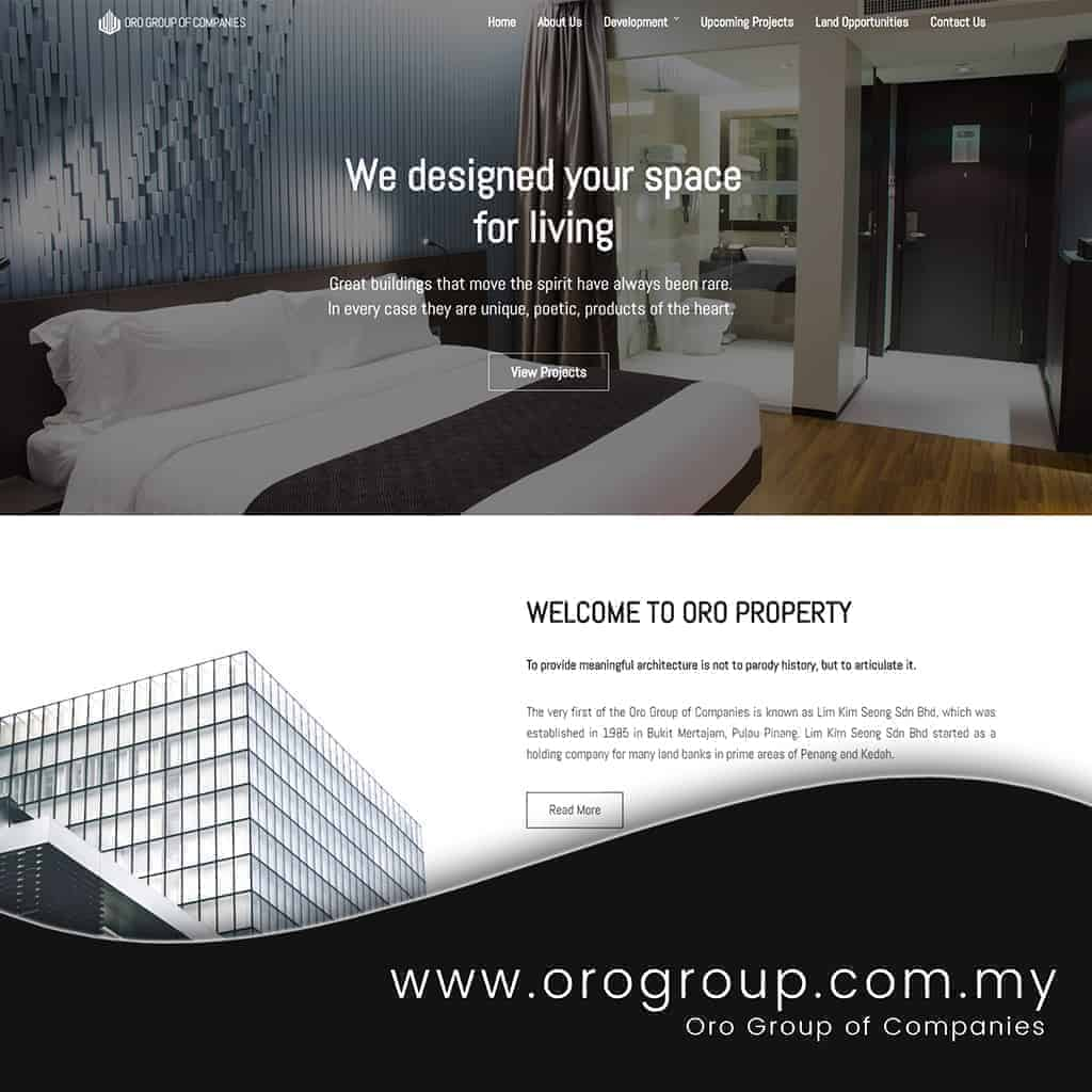 oro group website
