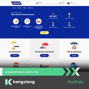 amana insurance 2020 website