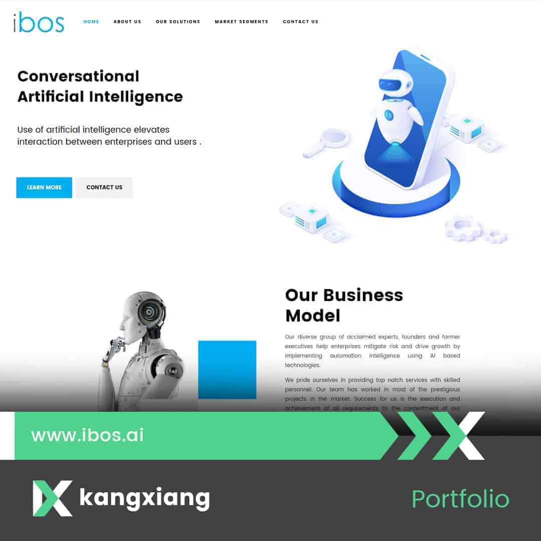 ibos website project