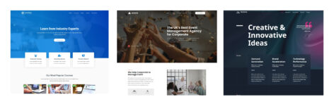 astra elementor theme for for business website