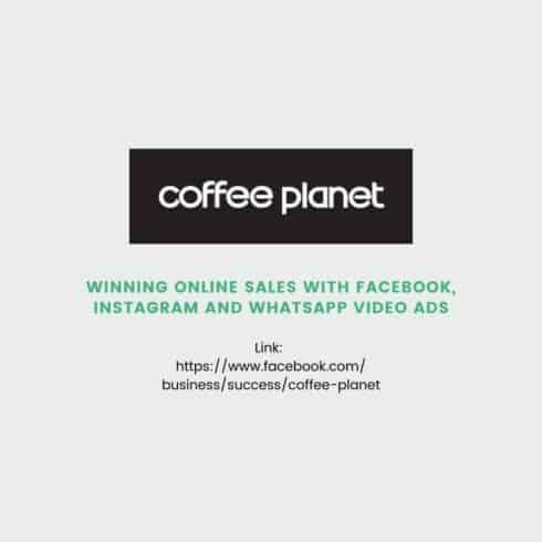 coffeeplanet website design and digital marketing