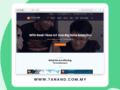 tanand website design by malaysian SEO company