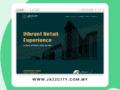 jazzcity website custom design